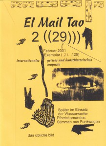 El mail Tao Nr. 29, Feb. 2001