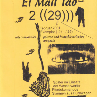el mail Tao, Nr. 29, Feb. 2001