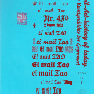 el mail Tao, Nr. 44, April 2003,